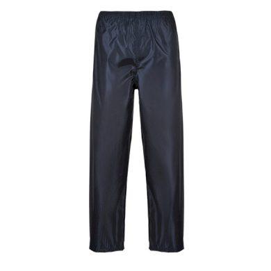 kalhoty do deště CLASSIC,tmavě modrá Portwest