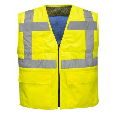 Reflexní výstražná vesta HiVis chladící před přehřátím Portwest
