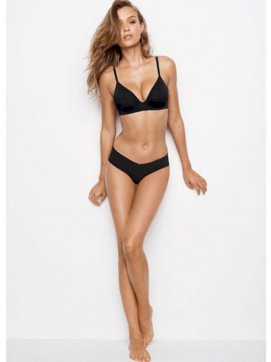 Victoria's Secret černá podprsenka bez kostic Lightly Lined Wireless Bra