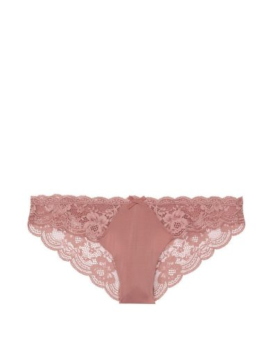 Victoria's Secret luxusní sexy kalhotky Floral Cheekini Panty