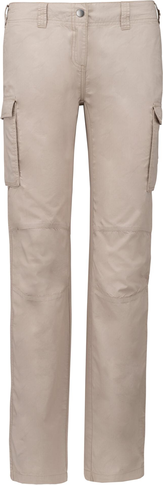 Dámské outdoorové kalhoty Kariban s cargo kapsami