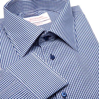 Pánská košile kostka - Charleston Regular Fit