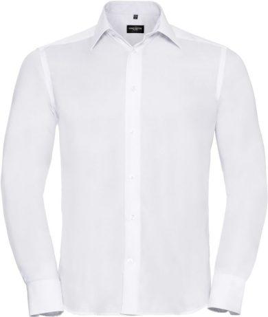 Pánská business košile dlouhý rukáv Easy Care Russell Slim fit