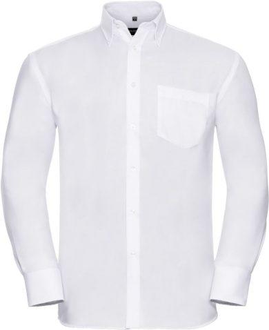 Pánská košile Button-down dlouhý rukáv Easy Care Russell Classic