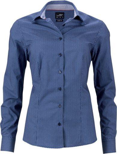 Dámská moderní košile s kontrastem