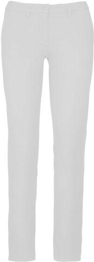 Dámské kalhoty chino bavlna s elastanem