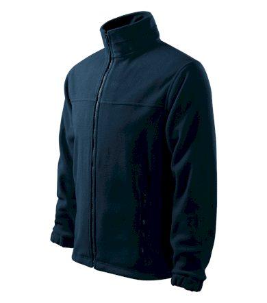 Pánská fleece mikina na zip dlouhý rukáv