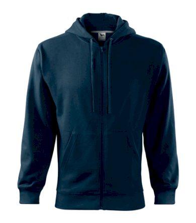 Pánská mikina na zip s kapucí Trendy Zipper Malfini