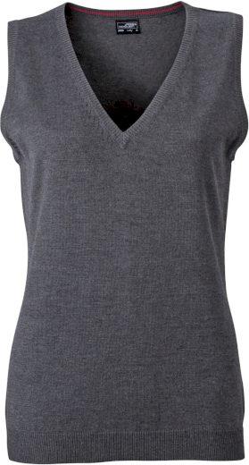 Dámská pletená vesta z bavlny