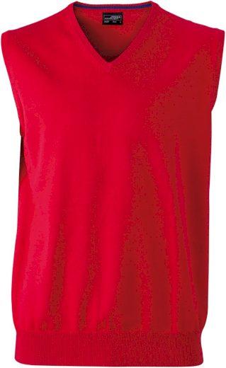 Pánská pletená vesta z bavlny výběr 12 barev
