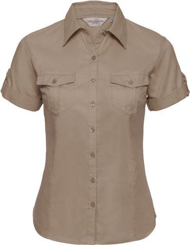 Dámská košile pilotka krátký rukáv