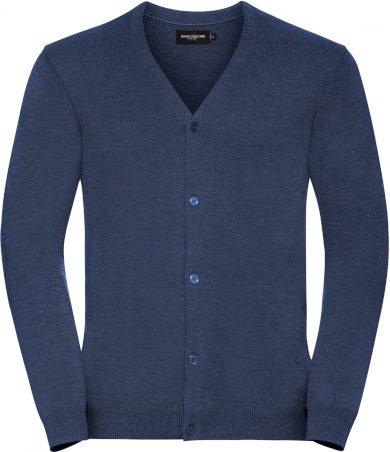 Pánský pletený svetr se zapínáním na knoflíky