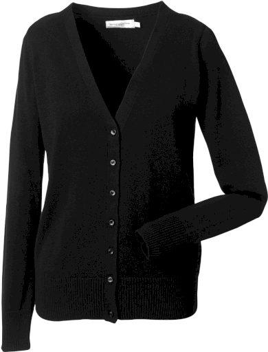 Dámský pletený svetr se zapínáním na knoflíky