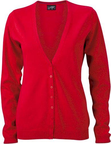 Kardigan dámský s výstřihem do V 100% česaná bavlna