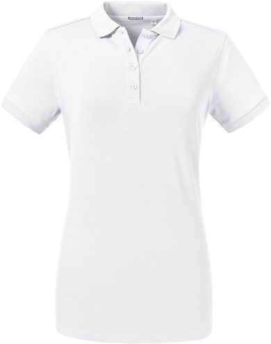 Russell dámské elastické polo bavlna & Lycra® Slim fit