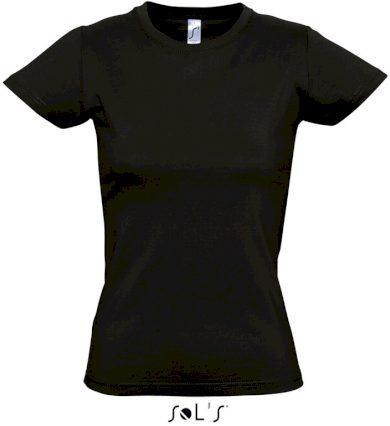Sol's dámské tričko krátký rukáv kulatý výstřih 100% bavlna střední gramáž