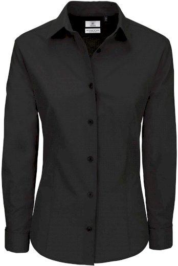 Dámská kostýmková košile dlouhý rukáv 100% česaná bavlna Popelín Easy care Heritage