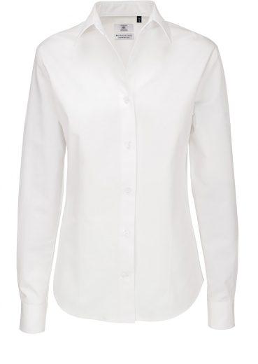 Dámská košile dlouhý rukáv 100% česaná bavlna kepr Easy Care Sharp