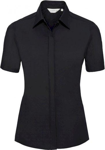 Elastická halenka krátký rukáv Russell bavlna s vysokým podílem Lycra®