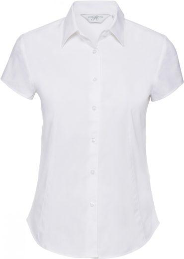 Dámská elastická košile krátký rukáv Russell