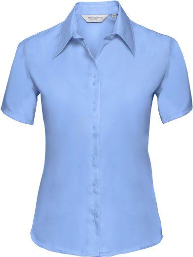 Dámská business košile krátký rukáv Easy Care Russell
