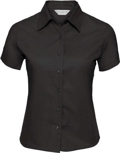 Dámská keprová košile Russell krátký rukáv límec Kent Classic fit