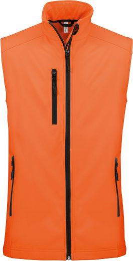 Pánská 3 vrstvá softshellová vesta Kariban