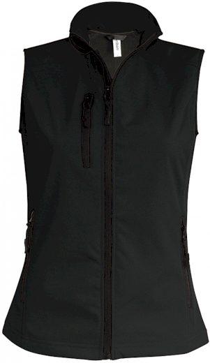 Dámská 3 vrstvá softshellová vesta Kariban