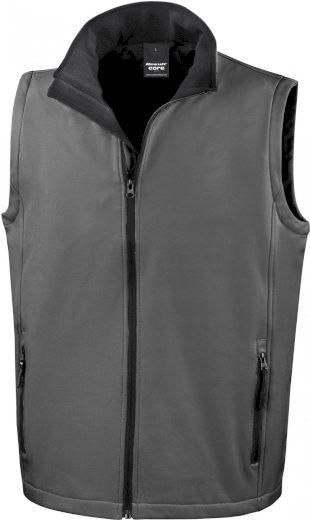 Pánská softshellová vesta slim Result