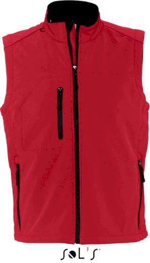 Pánská 3 vrstvá softshellová vesta Rallye Men Sol's
