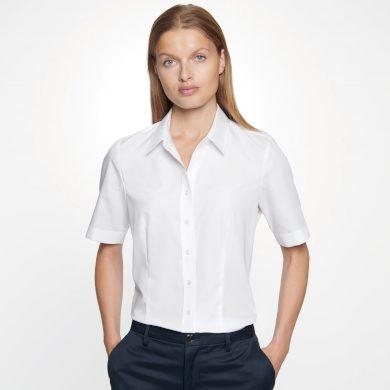 Dámská nežehlivá košile Regular fit s krátkým rukávem Seidensticker