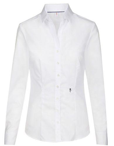 Dámská nežehlivá košile Slim fit s dlouhým rukávem Seidensticker