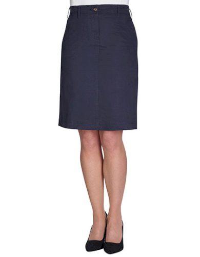 Dámská elastická sukně Chino Business Casual Brook Taverner