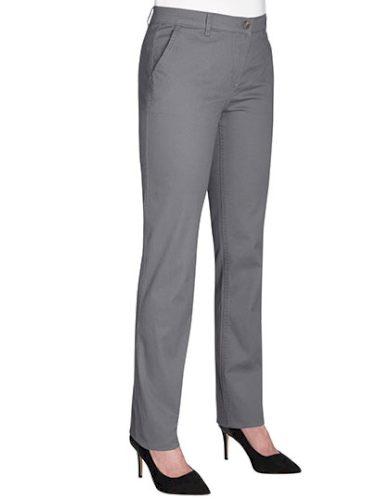 Dámské kalhoty elastické Slim fit Chino Brook Taverner