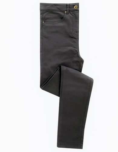 Dámské Slim fit stretch Chino kalhoty Premier - prodloužené