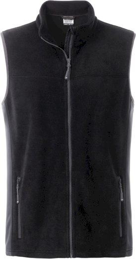 Pánská zátěžová fleece vesta James & Nicholson