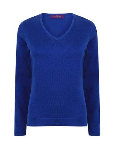 Dámský Regular fit pletený pulovr do V Henbury