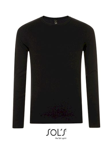 Pánský Slim fit pletený pulovr kulatý výstřih Sol's