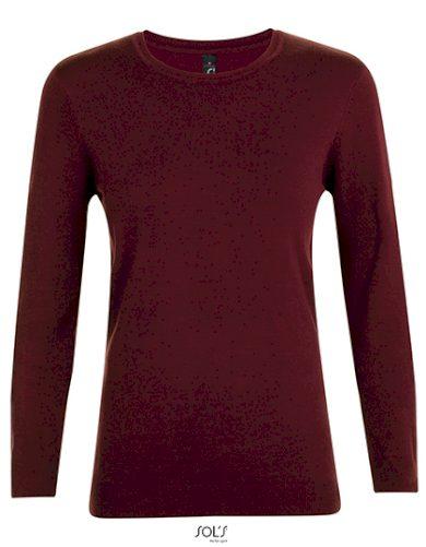 Dámský Slim fit pletený pulovr kulatý výstřih Sol's