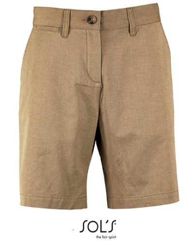 Dámské bavlněné Chino šortky Sol's