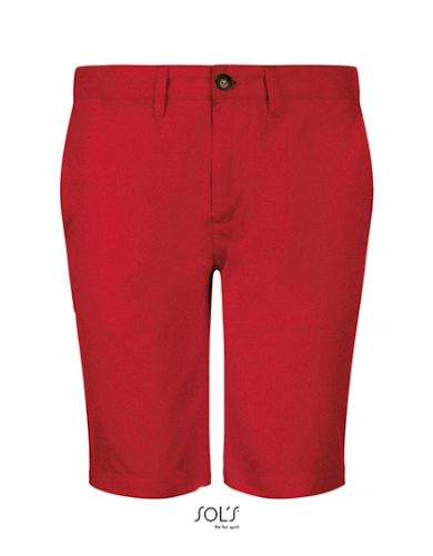 Pánské bavlněné chino Jasper Bermuda šortky Sol's