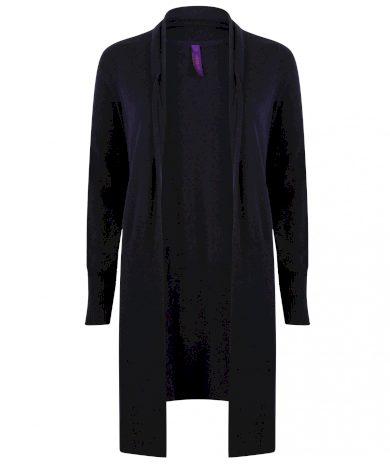 Dámský volný pletený cardigan dlouhý Henbury