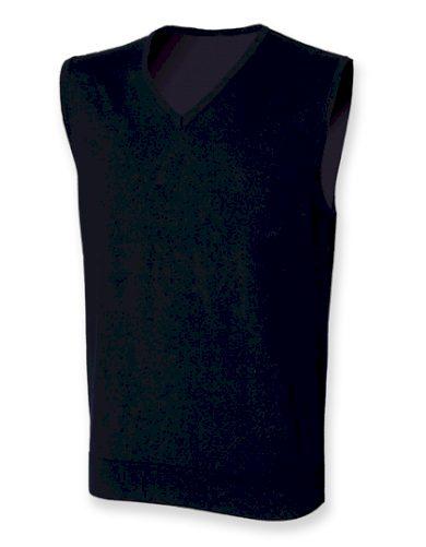 Pánská Regular fit pletená vesta Henbury