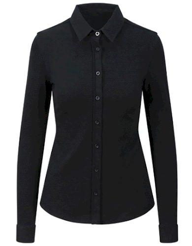 Dámská Slim fit elastická košile mini piqué Anna So Denim