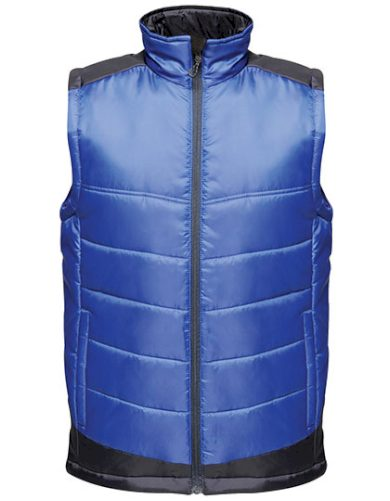 Pánská vodoodpudivá dvoubarevná prošívaná vesta Regatta
