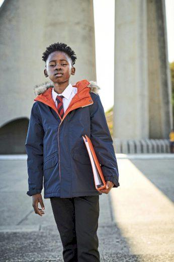 Dětská nepromokavá zimní bunda s kapucí Regatta