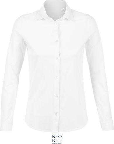 Dámská košile s dlouhým rukávem Neo Blu