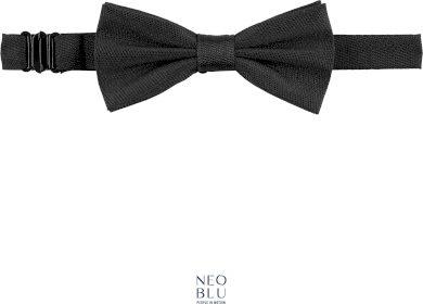 Elegantní motýlek k obleku Teddy Neo Blu černý
