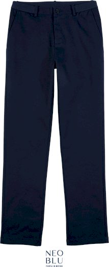 Pánské chino kalhoty s elastanem Gustave Neo Blu