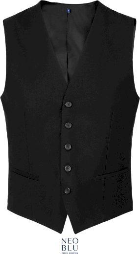 Pánská vesta k obleku Max Neo Blu